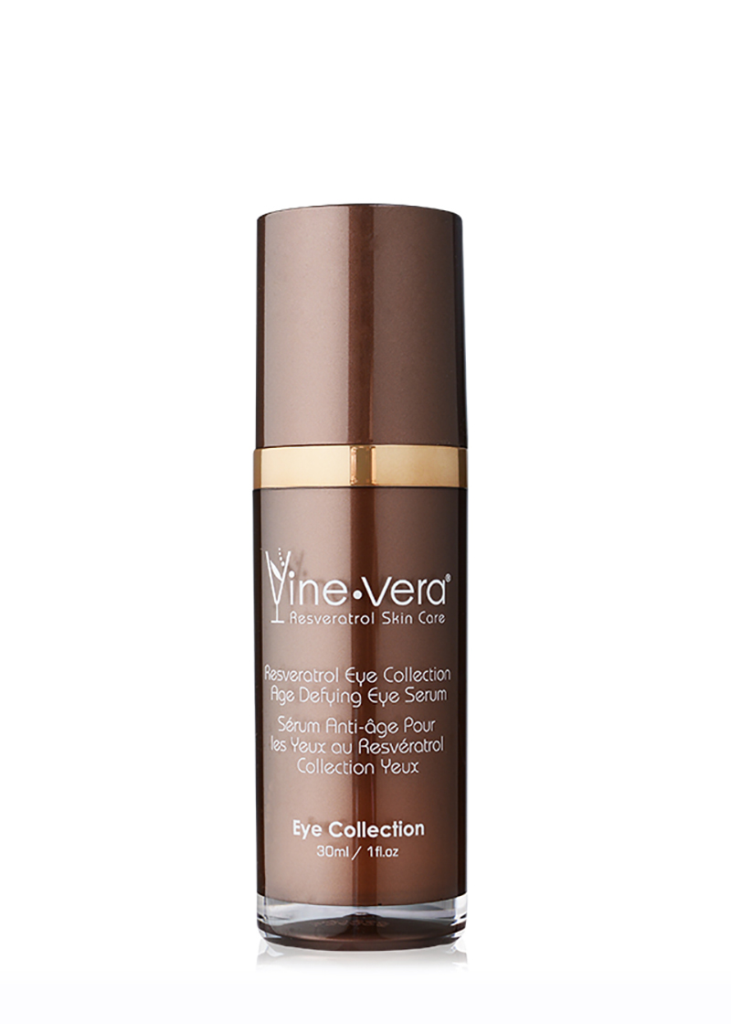 Resveratrol Age Defying Eye Serum with top