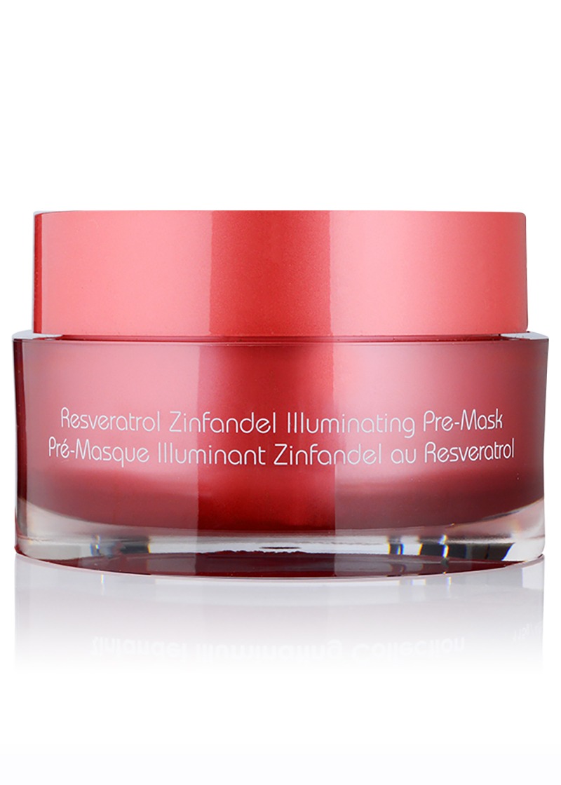 back view of Zinfandel Illuminating Pre Mask